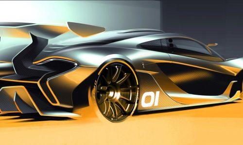 McLaren P1 GTR design concept to debut at Pebble Beach