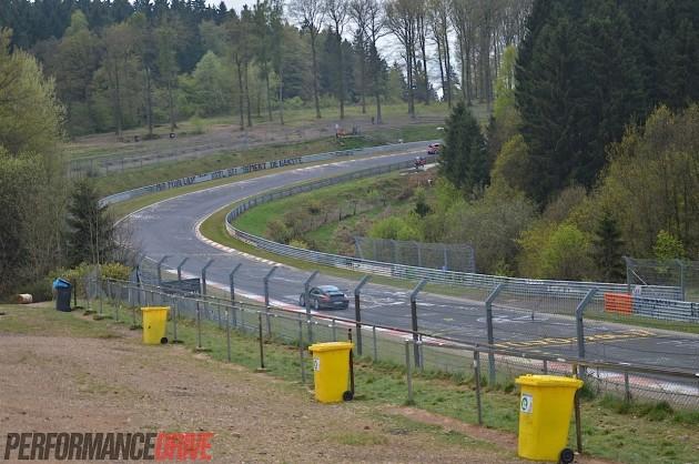 Nurburgring Nordschleife-Brunnchen-Porsche 911 GT3