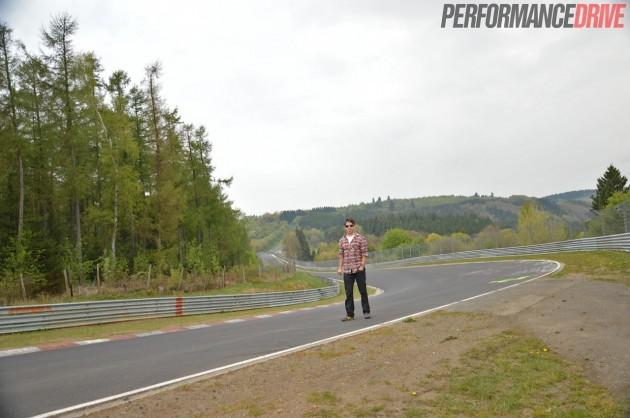 Nurburgring Nordschleife-Hocheichen Brett Davis