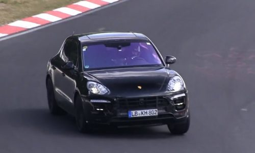 Video: Porsche Macan 'Turbo S' spotted?