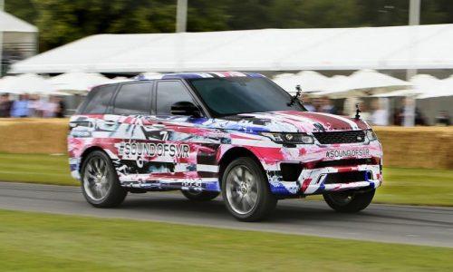 Range Rover Sport SVR tackles Goodwood hill, 405kW confirmed