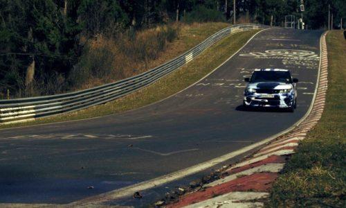 Range Rover SVR sets Nurburgring SUV lap record