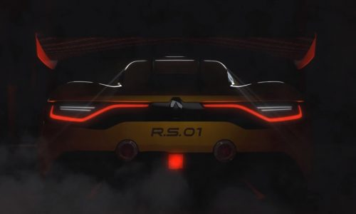 Renault R.S. 01 name confirmed for new racer (video)