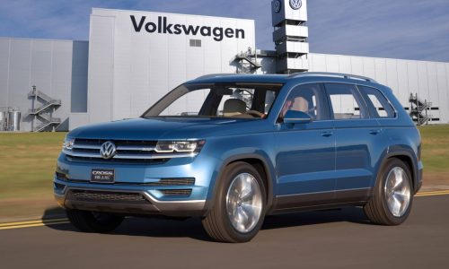 Volkswagen 7-seat 'CrossBlue' SUV confirmed, built in US
