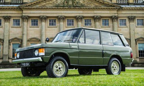 For Sale: 1970 Range Rover, build number 001