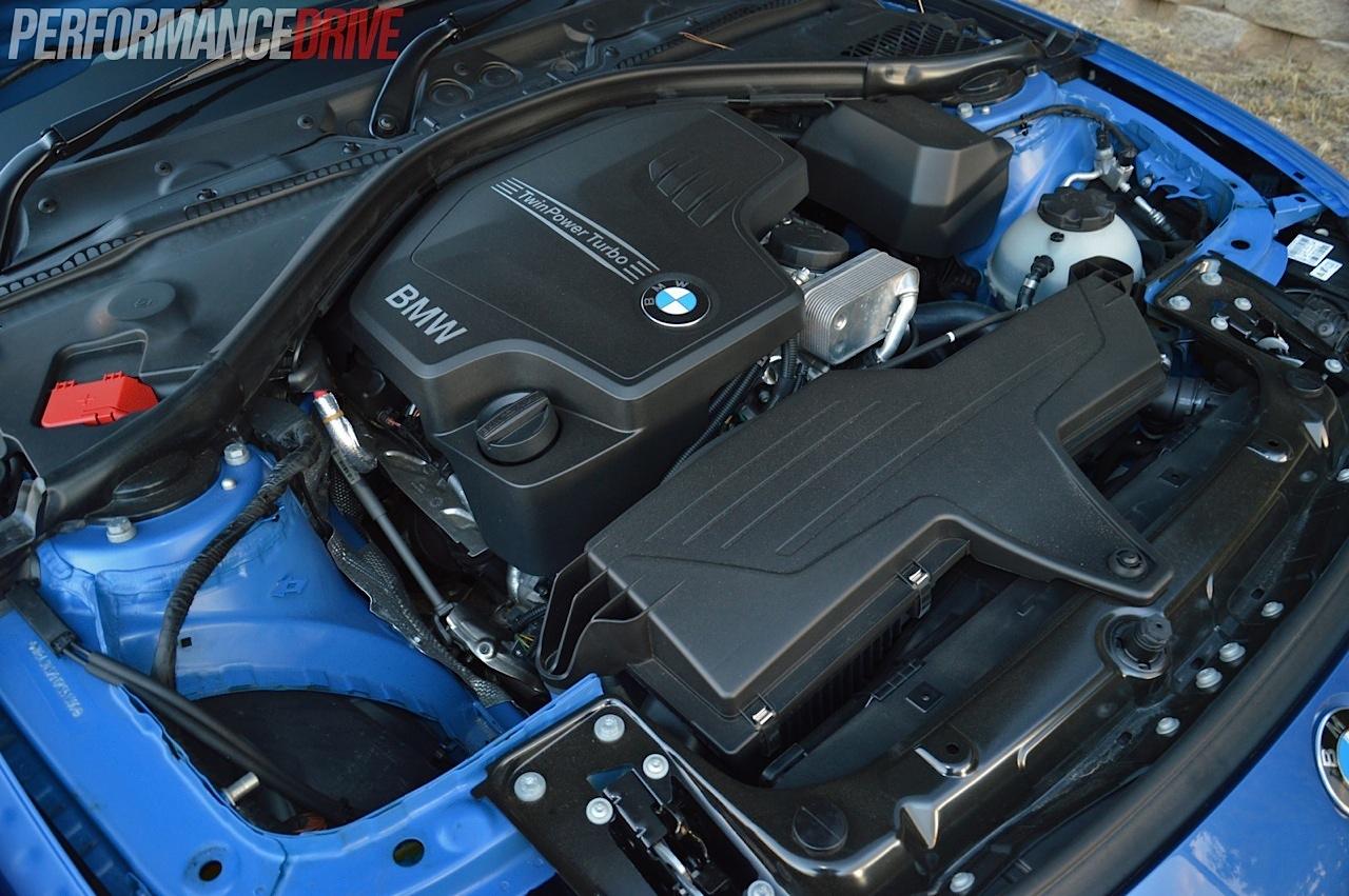 2014 BMW 428i-2L engine