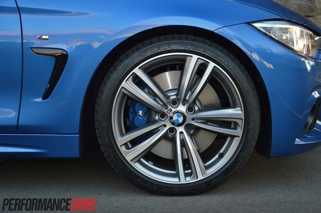 2014 BMW 428i M Sport brakes