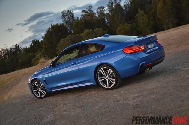 2014 BMW 428i M Sport-rear