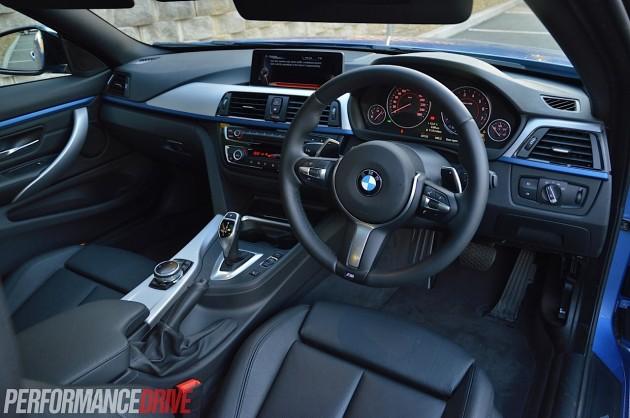 2014 BMW 428i Sport Line interior