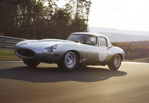 2014 Jaguar Lightweight E-Type-front