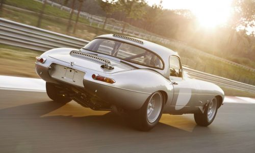 Jaguar Lightweight E-Type revealed, built by Special Operations