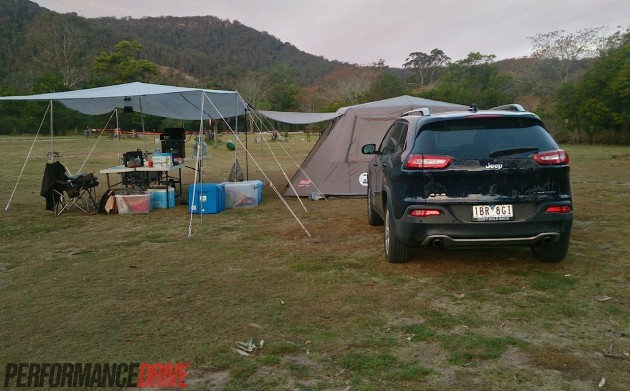 2014 Jeep Cherokee Limited-camping