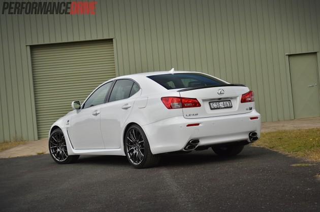 2014-Lexus-IS-F-rear