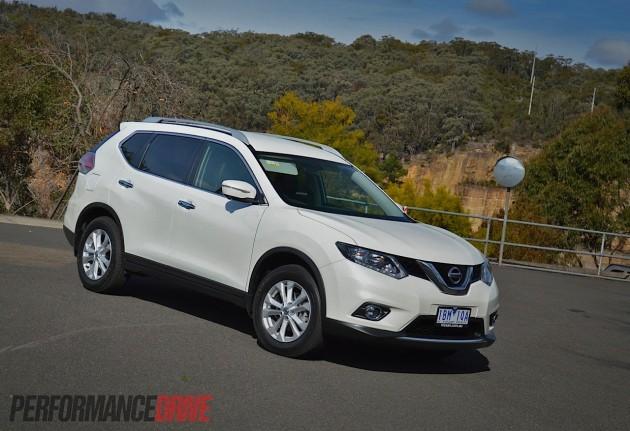 2014 Nissan X-Trail ST-L-Ivory Pearl