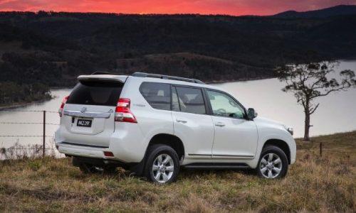 Toyota Prado Altitude announced with relocated spare wheel