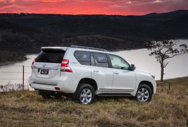 2014 Toyota Prado Altitude-back