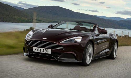 2015 Aston Martin Vanquish & Rapide get ZF 8-speed