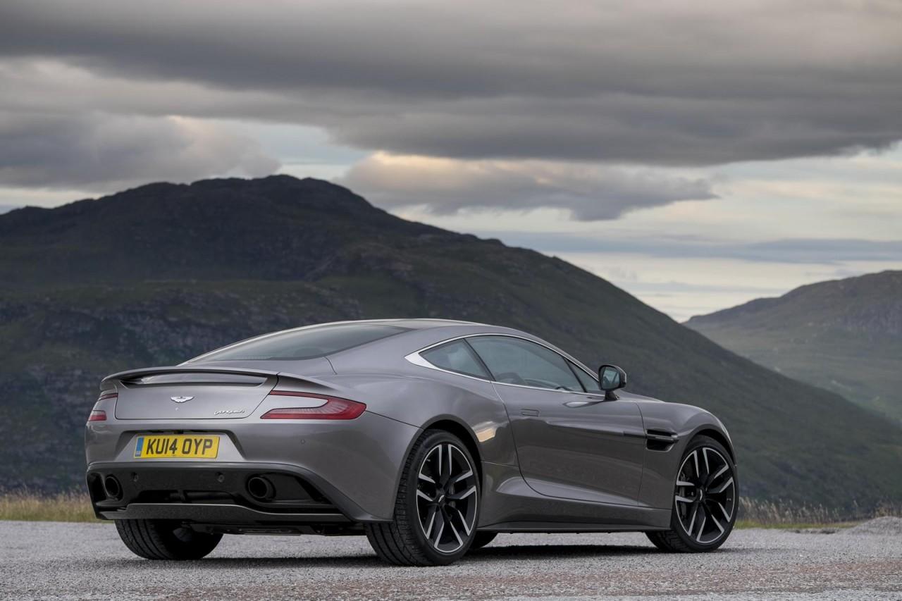 Aston Martin Vanquish Rear X