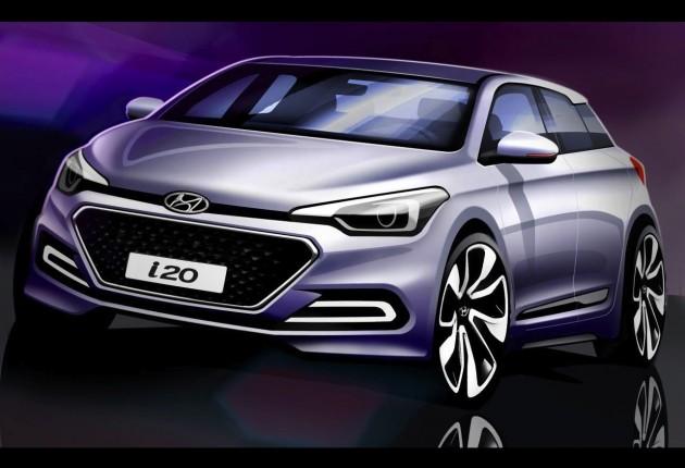 2015 Hyundai i20 sketch