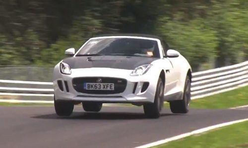 Video: Mysterious Jaguar F-Types spotted at Nurburgring