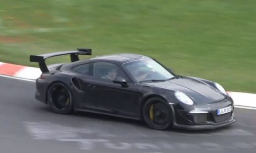 Video: 2015 Porsche 911 GT3 RS spotted, sounds angry