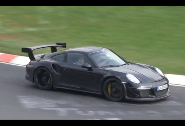 2015 Porsche 911 GT3 RS prototype