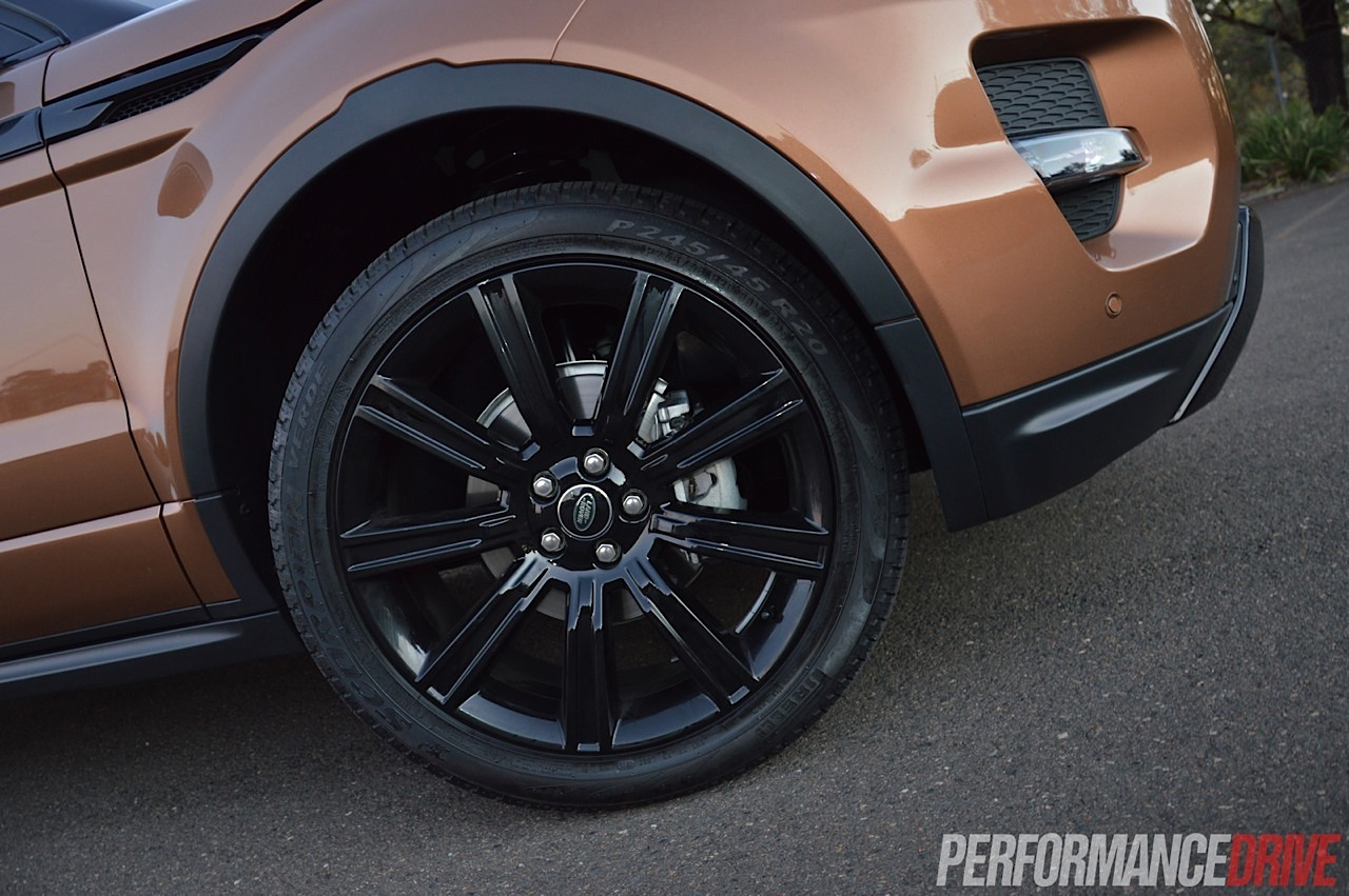 2014 Range Rover Evoque Si4 Review Video Performancedrive