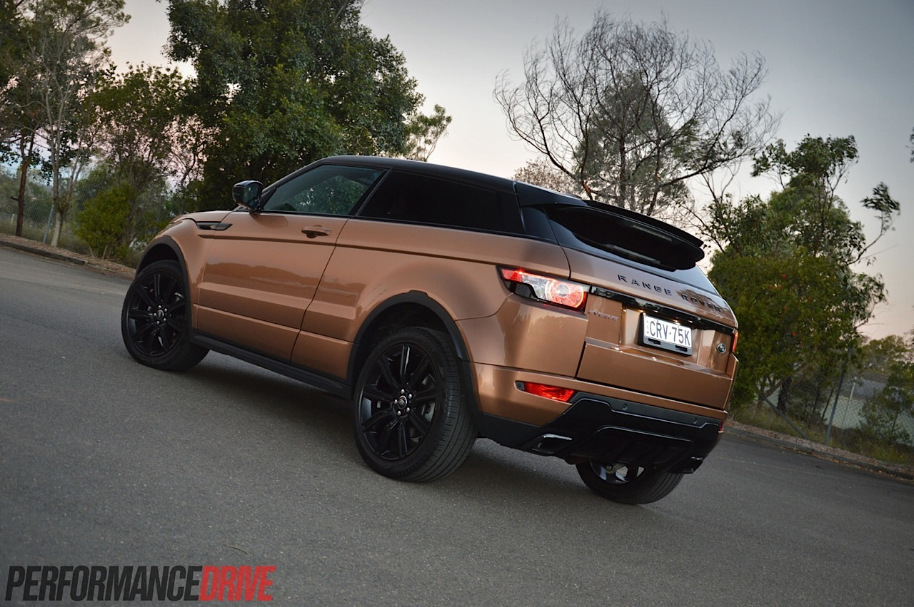 2014 Range Rover Evoque Si4 Review Video Performancedrive