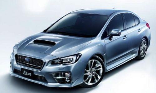 2015 Subaru WRX S4 gets 221kW 2.0L engine, JDM only