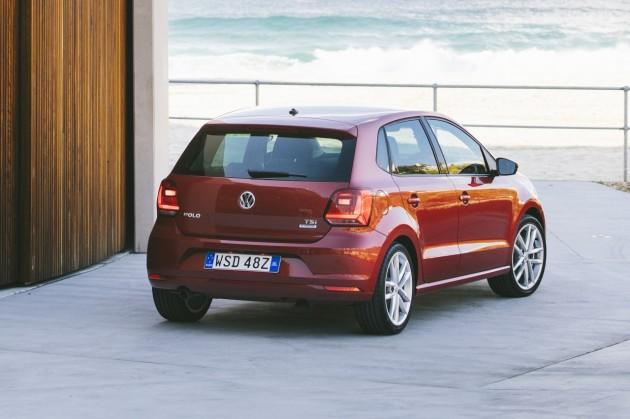 2015 Volkswagen Polo-rear