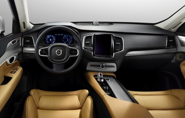 2015 Volvo XC90-interior