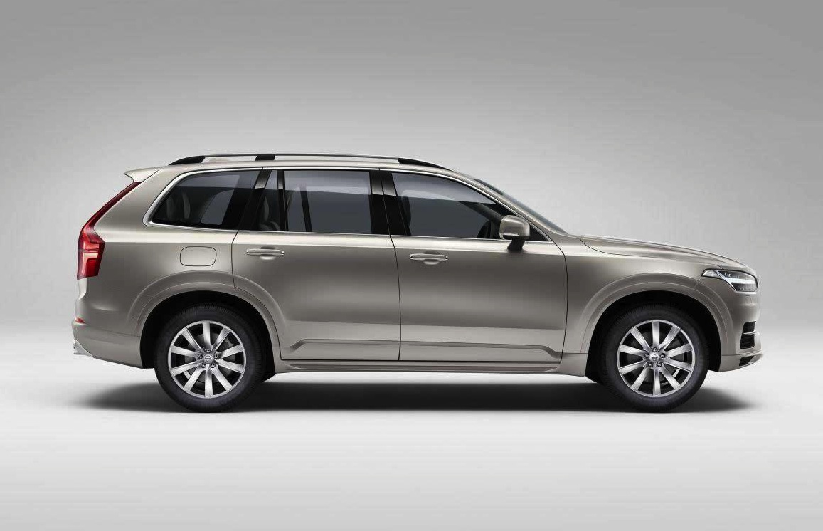 2015 Volvo XC90 revealed in leaked images | PerformanceDrive