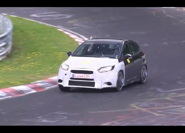 2017 Ford Focus RS prototype