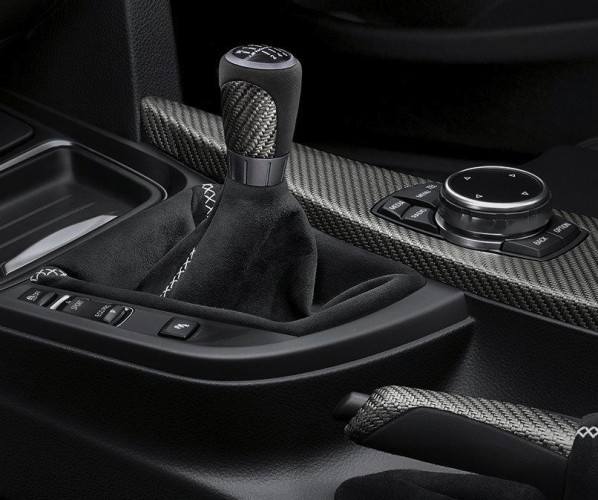 BMW 4 Series convertible M Performance gear lever