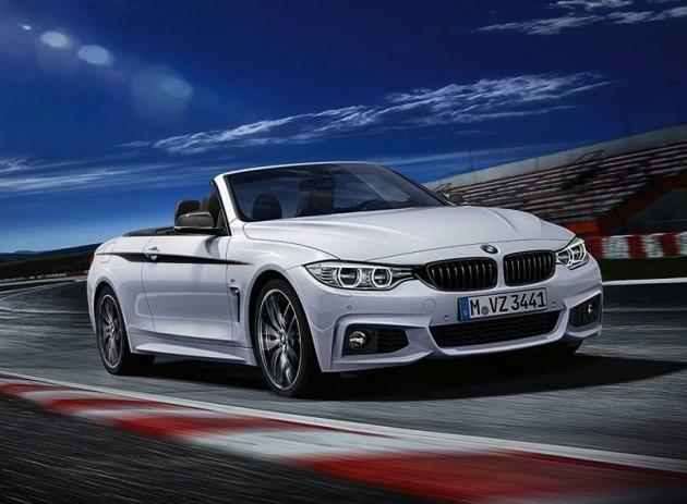 BMW 4 Series convertible M Performance kit