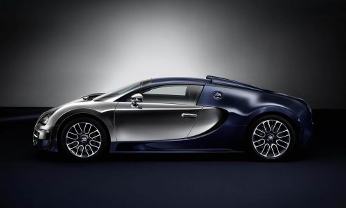 Bugatti Veyron GS Vitesse Ettore edition, last of Legends