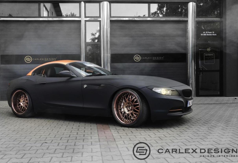 Carlex Design Bmw Z4 Shows Off Steampunk Theme