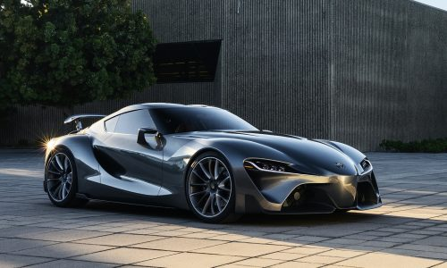 Updated Toyota FT-1 concept & racy Vision GT revealed (video)