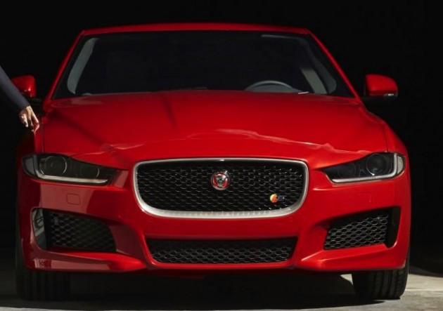 Jaguar XE-front end