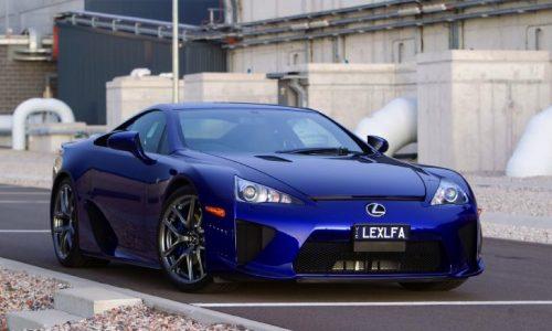 New Lexus LFA confirmed by company vice president