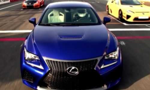 Lexus RC F technical highlights explained