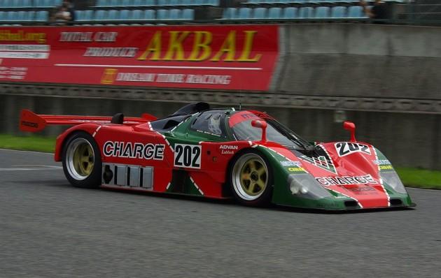 Mazda 767b race car 202