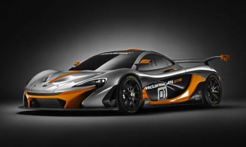 McLaren P1 GTR unveiled at Pebble Beach