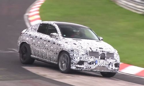 Video: Mercedes-Benz MLC-Class spotted, BMW X6 rival