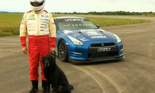 Mike Newman resets blind speed record in Litchfield GT-R