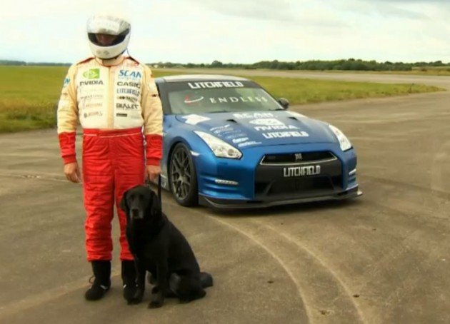 Mike Newman speed Litchfield Nissan GT-R