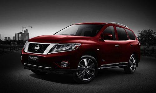 Nissan Pathfinder Hybrid on sale in Australia from $42,990