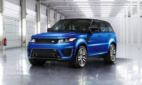 Range Rover Sport SVR revealed, on sale in Australia Q2 2015