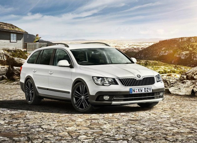 Skoda Superb 4x4 Outdoor