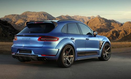 TopCar reveals muscly wide-body kit for Porsche Macan